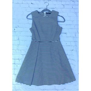 Kate Spade NWT stripe A line dress size 0